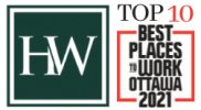 Hendry Warren Named in Top 10 of 2021 Best Places to Work in Ottawa